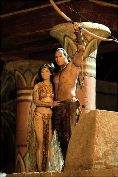 Le Roi Scorpion : photo Dwayne Johnson, Kelly Hu