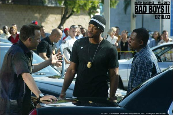 Bad Boys II : Photo Joe Pantoliano, Martin Lawrence, Michael Bay, Will Smith
