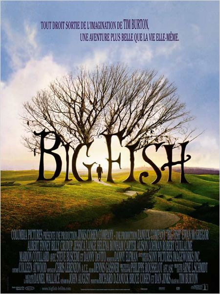 Big Fish : affiche Tim Burton