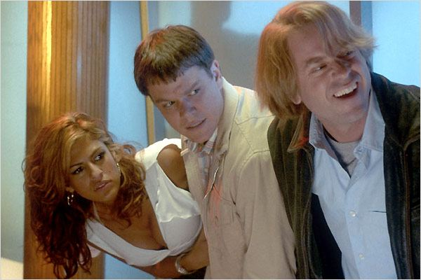 Deux en un : photo Bobby Farrelly, Eva Mendes, Greg Kinnear, Mark Steilen, Matt Damon