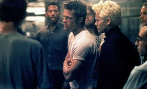 Fight Club : photo Brad Pitt, David Fincher, Jared Leto