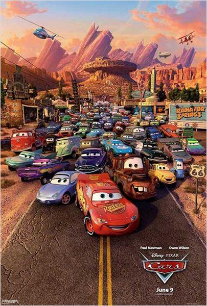 Cars : Affiche John Lasseter