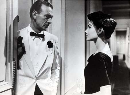Ariane : Photo Audrey Hepburn, Billy Wilder, Gary Cooper