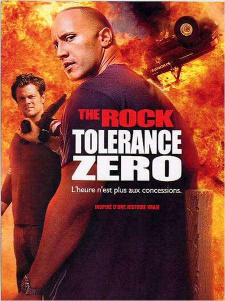 Tolérance zéro : affiche Dwayne Johnson, Johnny Knoxville, Kevin Bray