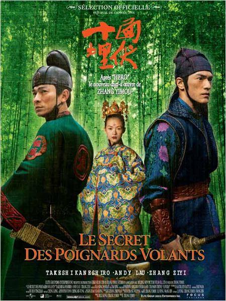 Le Secret des poignards volants : Affiche Andy Lau, Zhang Yimou, Zhang Ziyi