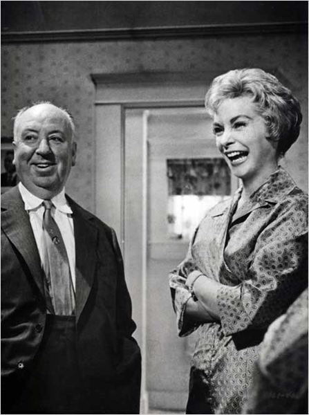 Psychose : photo Alfred Hitchcock, Janet Leigh