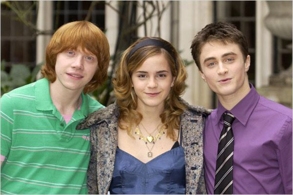 Harry Potter et la Coupe de Feu : Photo Daniel Radcliffe, Emma Watson, Rupert Grint