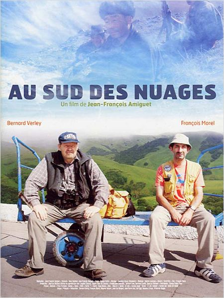 Au sud des nuages : affiche Bernard Verley, Fran&#231;ois Morel, Jean-Francois Amiguet