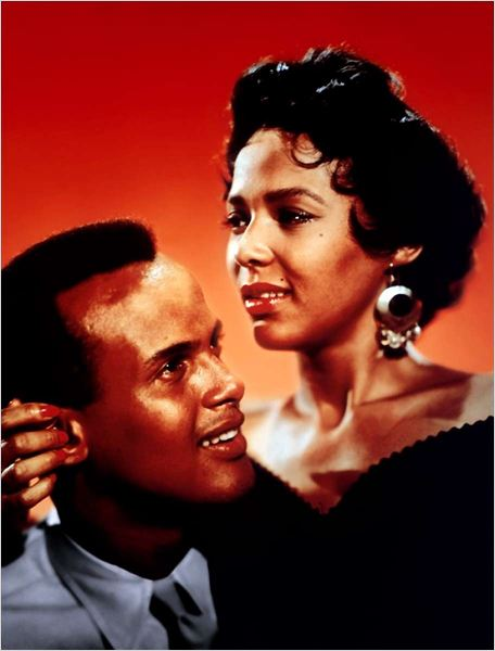Carmen Jones : photo Dorothy Dandridge, Otto Preminger