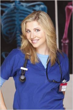 Scrubs : Photo Sarah Chalke