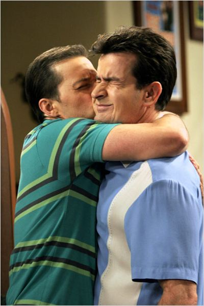 Mon oncle Charlie : Photo Charlie Sheen, Jon Cryer