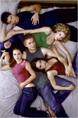 Les Frères Scott : Photo Bethany Joy Lenz, Chad Michael Murray, Hilarie Burton, James Lafferty, Sophia Bush