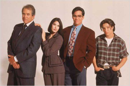 Loïs et Clark, les nouvelles aventures de Superman : Photo Dean Cain, Justin Whalin, Lane Smith, Teri Hatcher