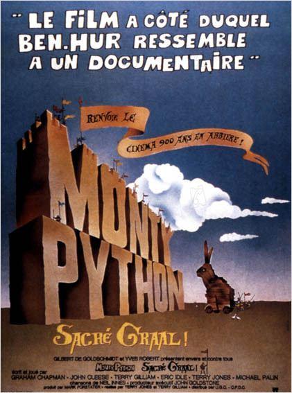 Monty Python, sacré Graal : Photo Graham Chapman, John Cleese, Terry Gilliam