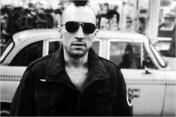 Taxi Driver : photo Martin Scorsese, Robert De Niro
