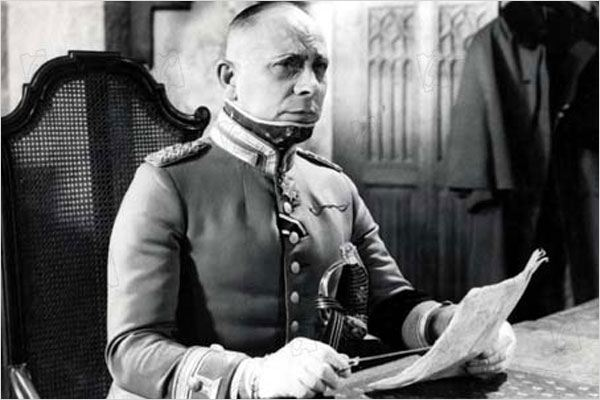 La grande illusion : Photo Erich Von Stroheim, Jean Renoir