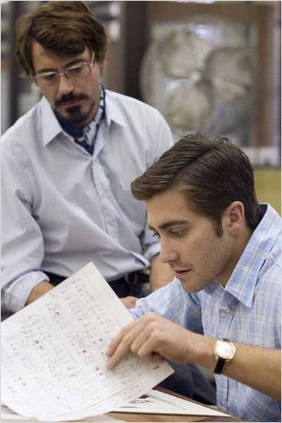 Zodiac : Photo David Fincher, Jake Gyllenhaal, Robert Downey Jr.