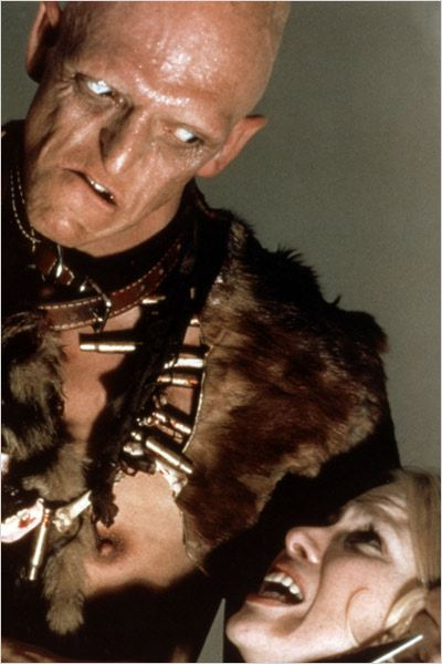 La Colline a des yeux : photo Michael Berryman, Wes Craven