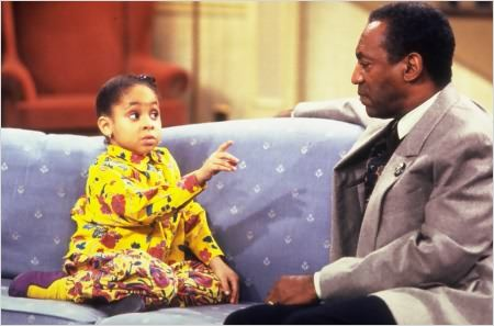 Cosby Show : photo Bill Cosby, Raven Symone