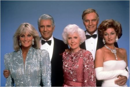 Dynastie : Photo Barbara Stanwyck, Charlton Heston, John Forsythe, Linda Evans, Stephanie Beacham