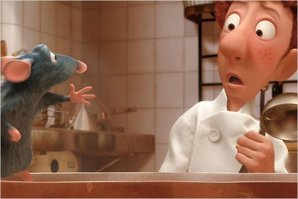 Ratatouille : photo Brad Bird
