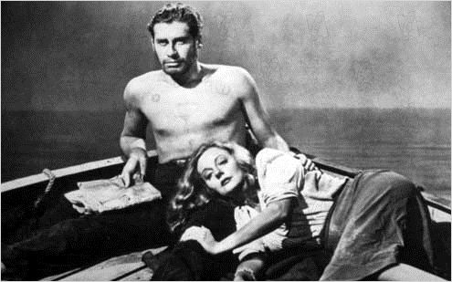 Lifeboat : photo Alfred Hitchcock, John Hodiak, Tallulah Bankhead