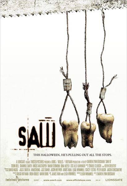 Saw 3 : Affiche Darren Lynn Bousman
