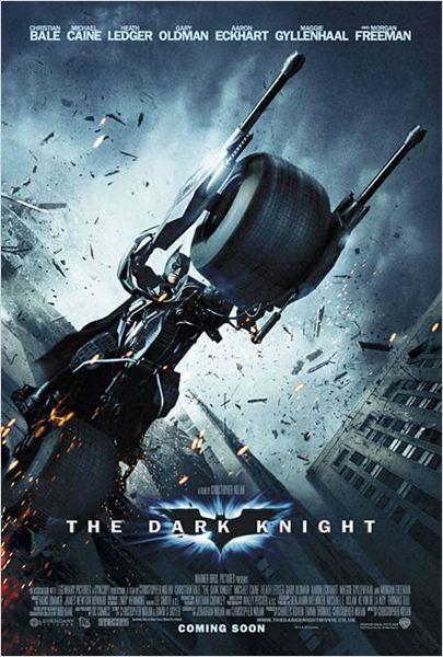 The Dark Knight, Le Chevalier Noir : Affiche Christian Bale