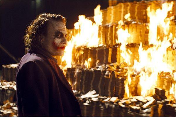 The Dark Knight, Le Chevalier Noir : Photo Christopher Nolan, Heath Ledger