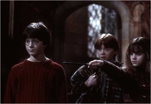 Harry Potter à l'école des sorciers : Photo Chris Columbus, Daniel Radcliffe, Emma Watson, Rupert Grint