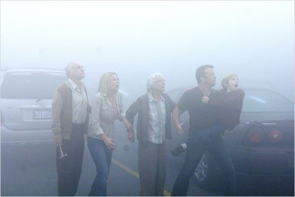 The Mist : Photo Frances Sternhagen, Frank Darabont, Jeffrey DeMunn, Laurie Holden, Nathan Gamble