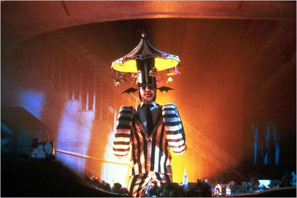 Beetlejuice : photo Michael Keaton, Tim Burton