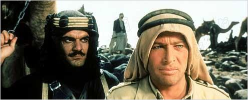 Lawrence d'Arabie : Photo David Lean, Omar Sharif, Peter O'Toole