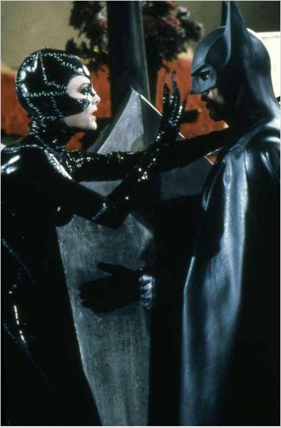 Batman, le défi : Photo Michael Keaton, Michelle Pfeiffer, Tim Burton