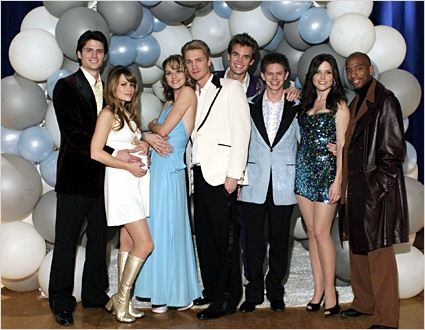 Les Frères Scott : Photo Antwon Tanner, Bethany Joy Lenz, Chad Michael Murray, Hilarie Burton, James Lafferty