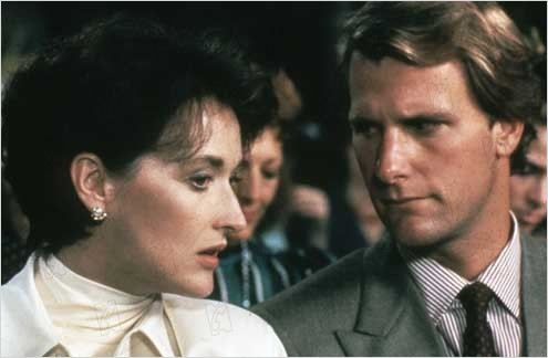 La Brûlure : photo Jeff Daniels, Meryl Streep, Mike Nichols
