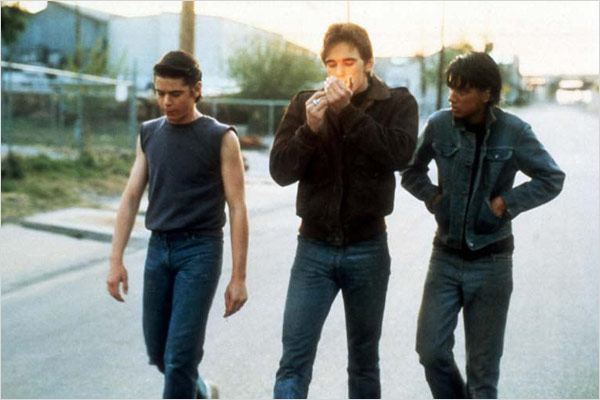Outsiders : photo C. Thomas Howell, Francis Ford Coppola, Matt Dillon, Ralph Macchio