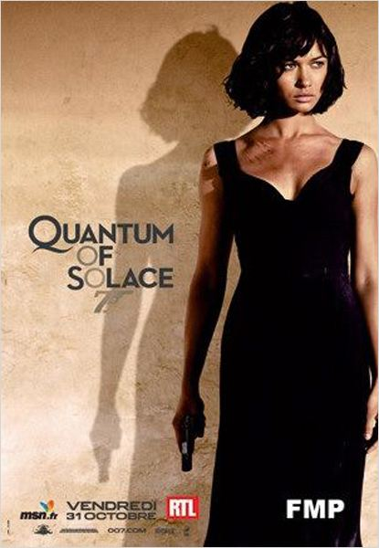 Quantum Of Solace : Affiche Marc Forster, Olga Kurylenko