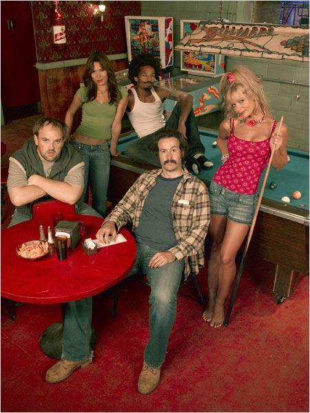 Earl : Photo Eddie Steeples, Ethan Suplee, Jaime Pressly, Jason Lee, Nadine Velazquez