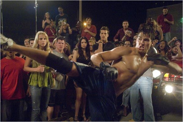 Never Back Down : photo Amber Heard, Jeff Wadlow, Sean Faris