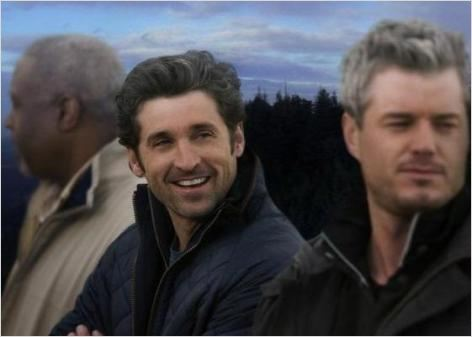 Grey's Anatomy : photo Eric Dane, James Pickens Jr., Patrick Dempsey