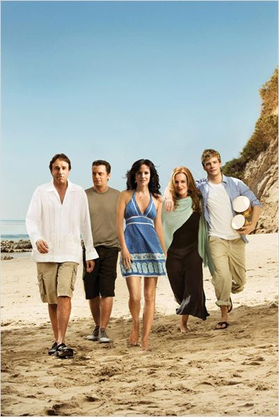 Weeds : photo Elizabeth Perkins, Hunter Parrish, Justin Kirk, Kevin Nealon, Mary-Louise Parker