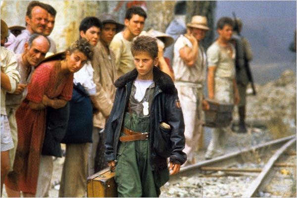 L'Empire du soleil : Photo Christian Bale, Steven Spielberg