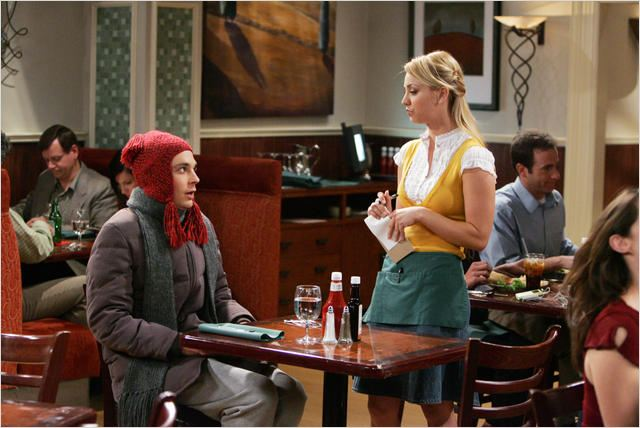 The Big Bang Theory : photo Jim Parsons, Kaley Cuoco