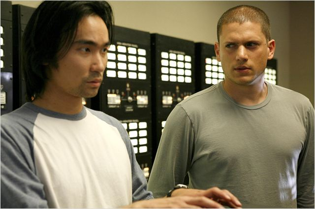 Prison Break : photo James Hiroyuki Liao, Wentworth Miller