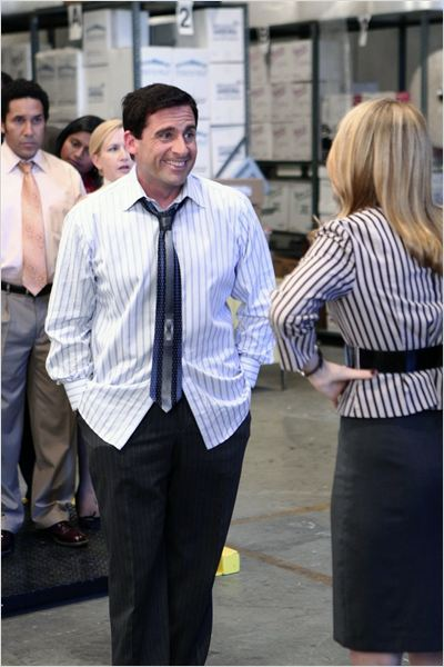 The Office (US) : Photo Amy Ryan, Steve Carell