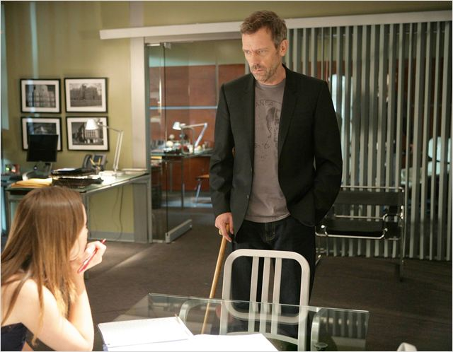 Dr House : Photo Hugh Laurie, Olivia Wilde