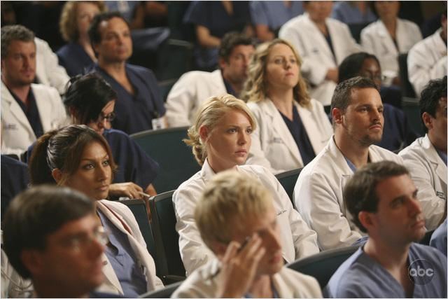 Grey's Anatomy : Photo Justin Chambers, Katherine Heigl