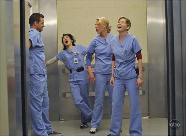 Grey's Anatomy : Photo Ellen Pompeo, Justin Chambers, Katherine Heigl, Sandra Oh