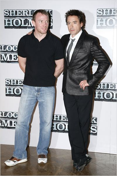Sherlock Holmes : Photo Guy Ritchie, Robert Downey Jr.